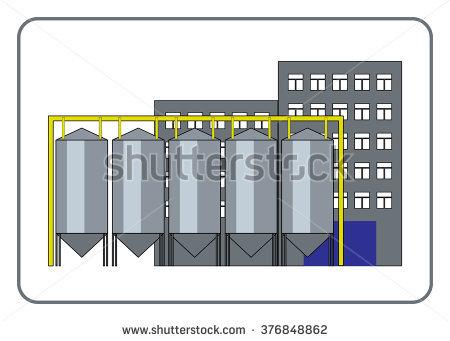 Food Processing Plant Stock Vectors, Images & Vector Art.