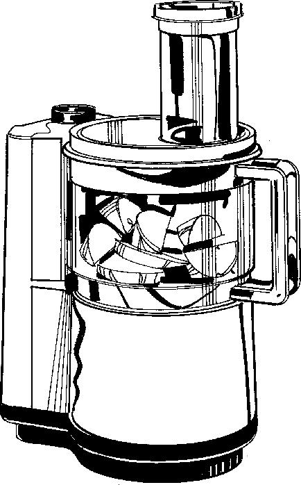 Food processor clipart.