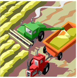 Food Production Clipart.