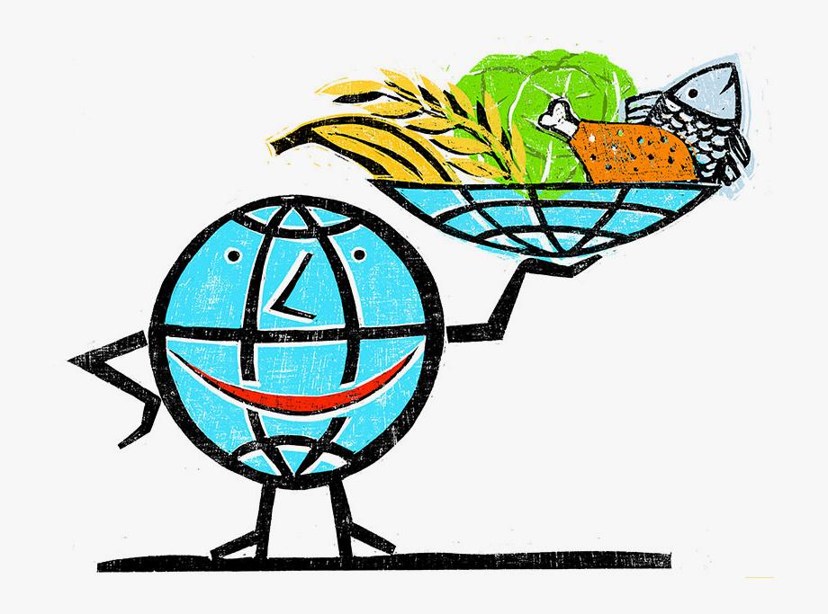 Global Food Security Drawing , Transparent Cartoon, Free.