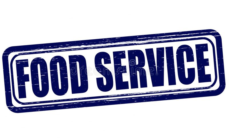 Food Service Stock Illustrations.