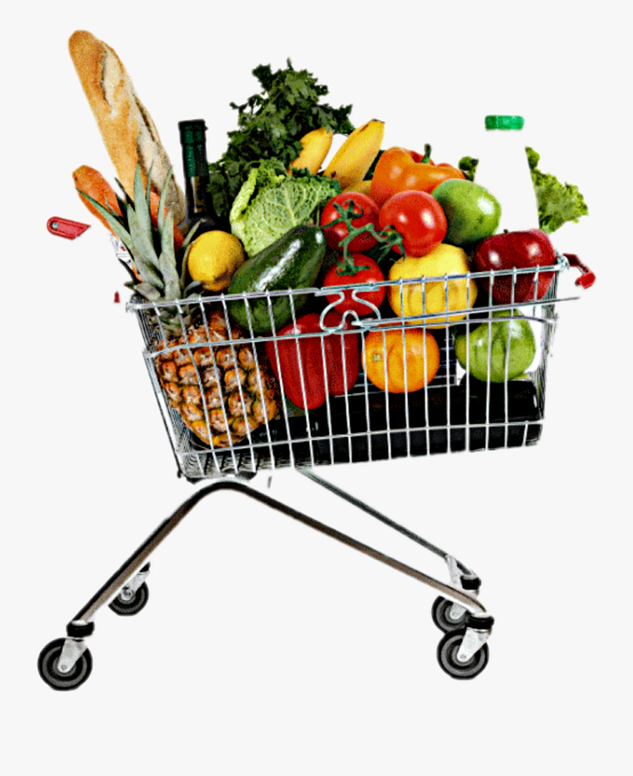 Grocery Shopping Grocery Cart Food.