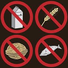 Food Allergy Friendly Clipart.