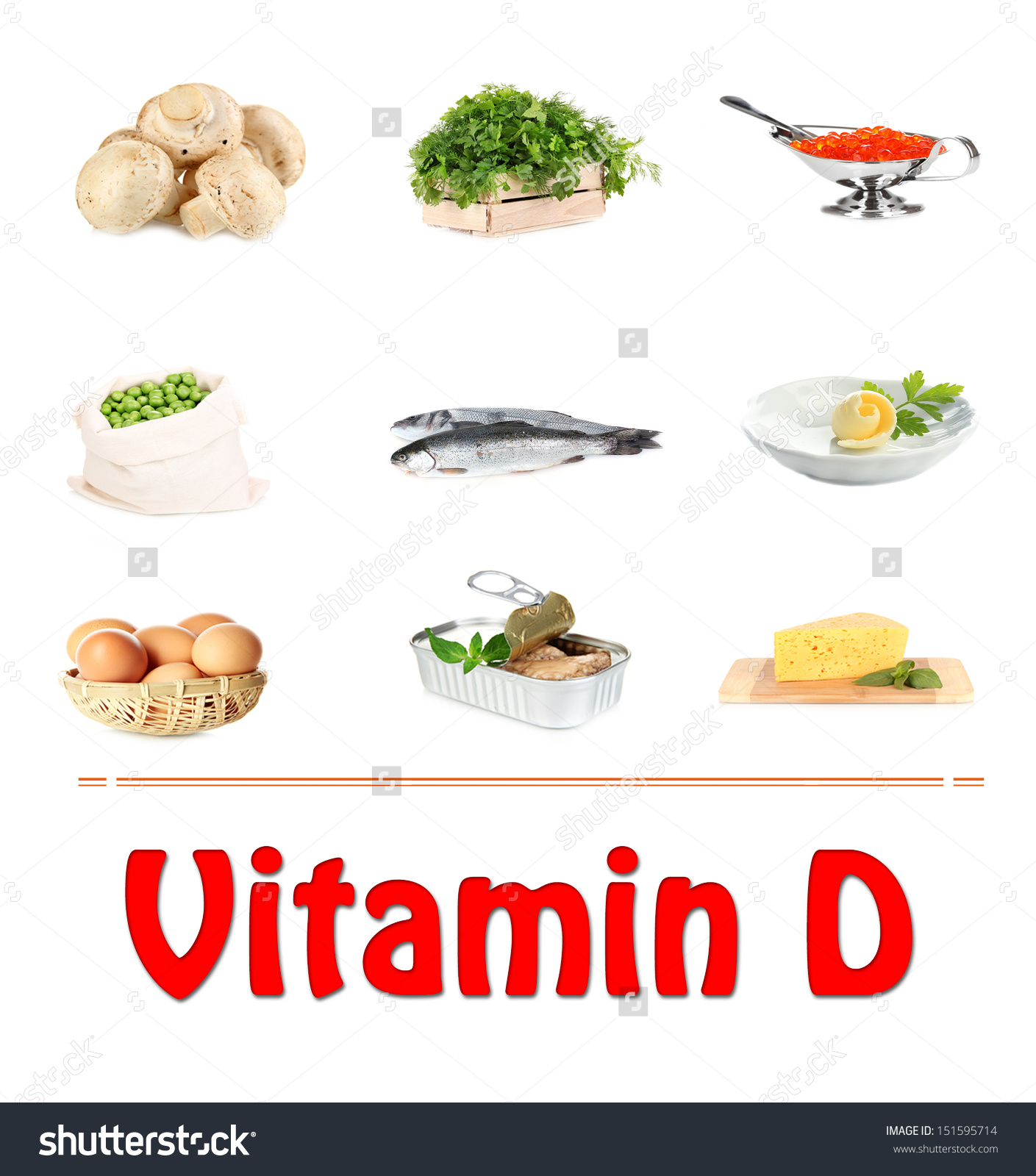 Vitamin d veggies