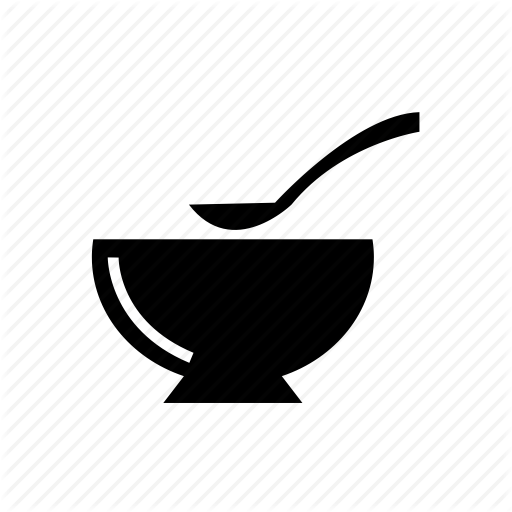 Similiar Outline Of Food And Cooking Pot With Spoon Keywords.