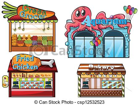 Food stalls Vector Clipart Illustrations. 1,078 Food stalls clip.