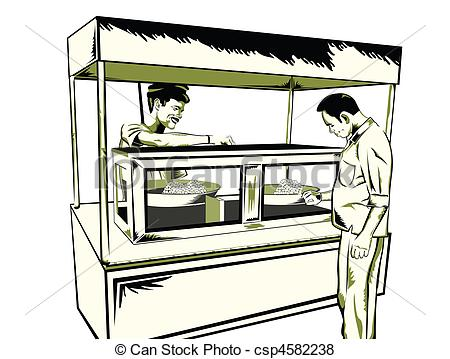 Showing post & media for Food stall cartoon.