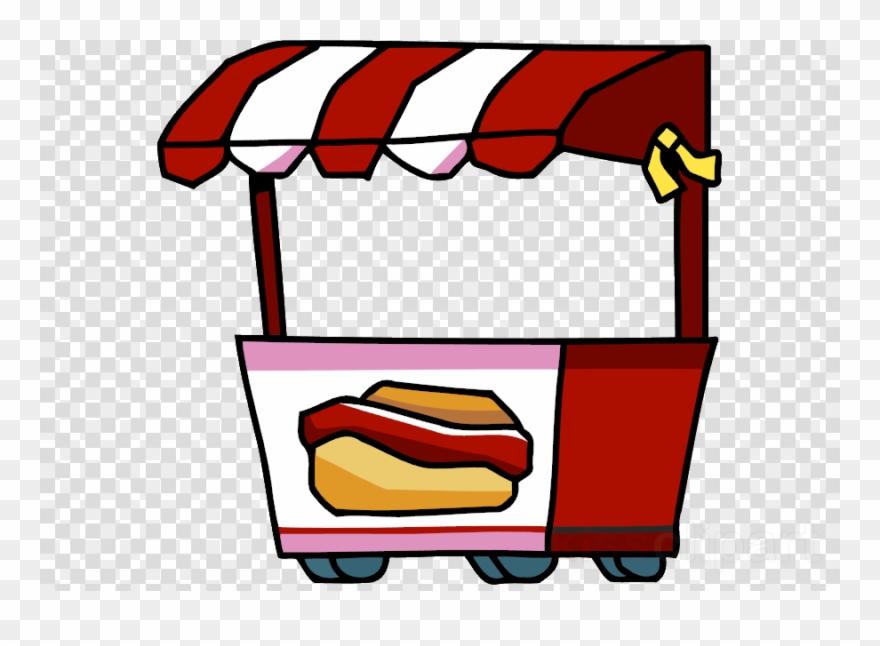 Hot Dog Stand Clip Art Clipart Hot Dog Street Food.