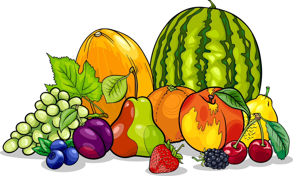 Food minerals clipart.