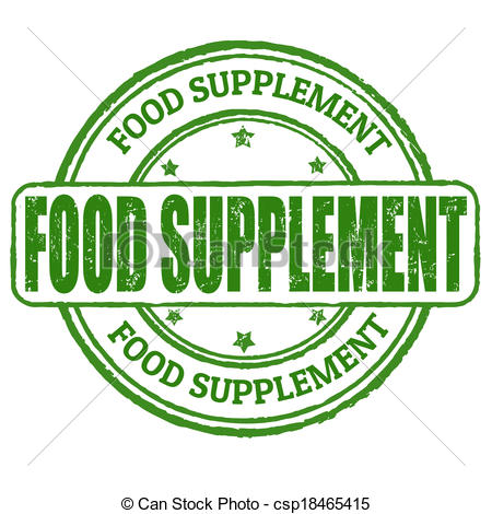 Food Supplement Clip Art.