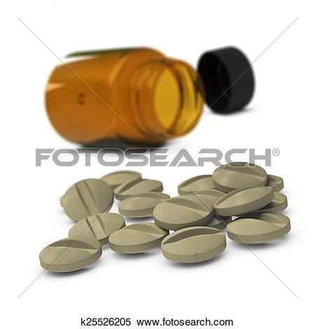 Stock Illustration of Food Supplements, Diet k25526205.