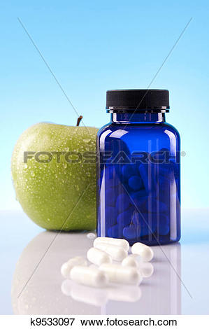 Picture of Food supplements, healthy diet k9533097.