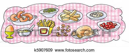 Food table clipart 5 » Clipart Portal.