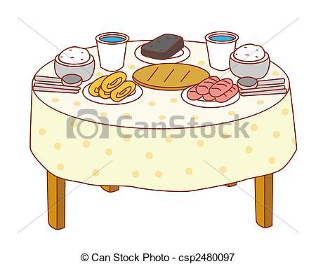 Food table clipart 1 » Clipart Portal.