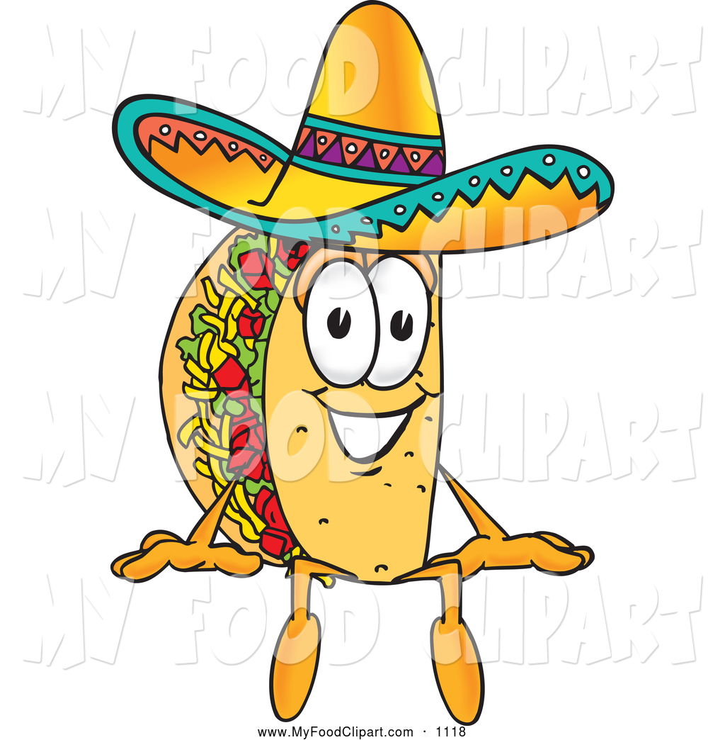 Royalty Free Stock Food Designs of Tacos.