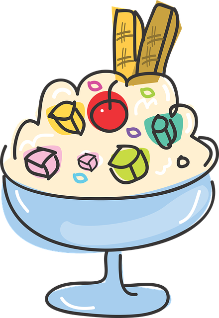 Free vector graphic: Food, Dessert, Ice, Sweet Dessert.