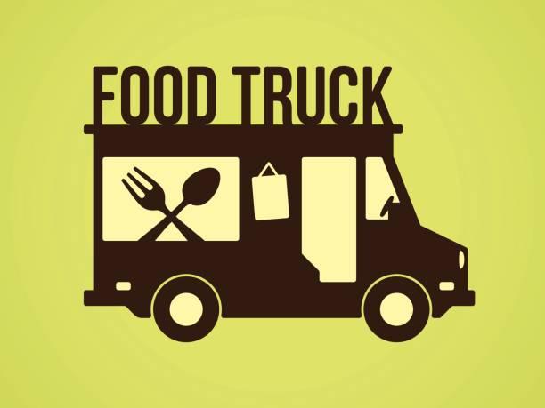 Best Food Truck Illustrations, Royalty.