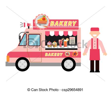 Food truck Clipart and Stock Illustrations. 2,442 Food truck.