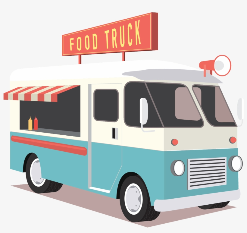 Food Truck Icon.