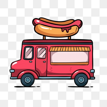 Food Truck PNG Images.