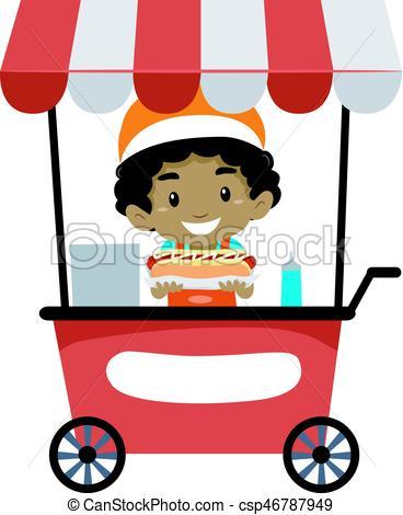 Food vendor clipart 4 » Clipart Station.