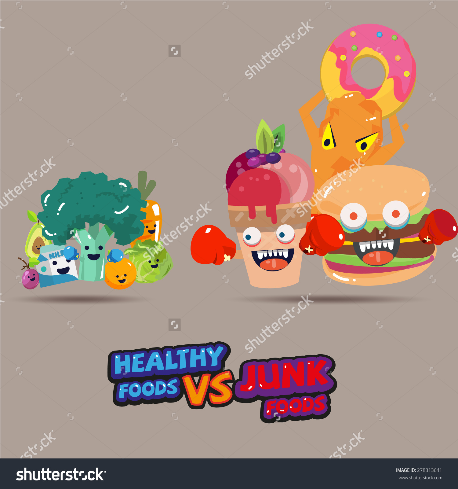 food vs food clipart #14