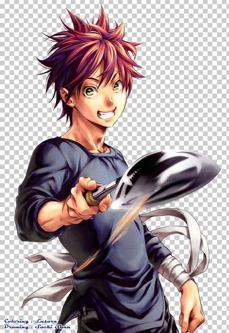 Sōma Yukihira Food Wars!: Shokugeki No Soma Manga PNG.