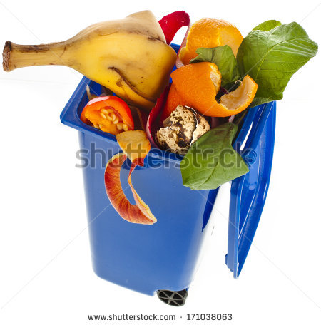 Food Waste Stock Images, Royalty.