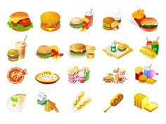 Fair food clipart.