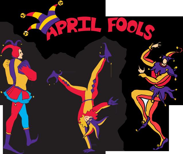 April Fools Clipart.