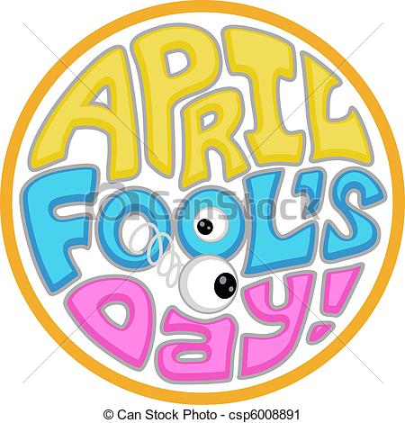 Clipart of April Fool's Day Icon.