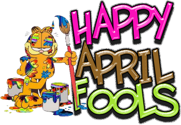 April fool day clip art.