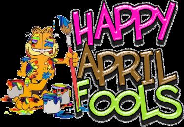 April fool day clip art.