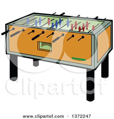 Foosball table free clipart transparent.