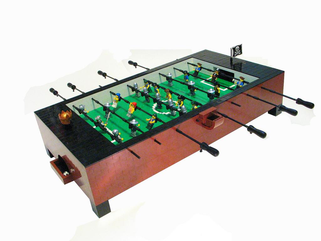 LEGO Coffee Table Foosball Table.