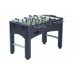 Brunswick delivers a solid beginner foosball table in chic black.