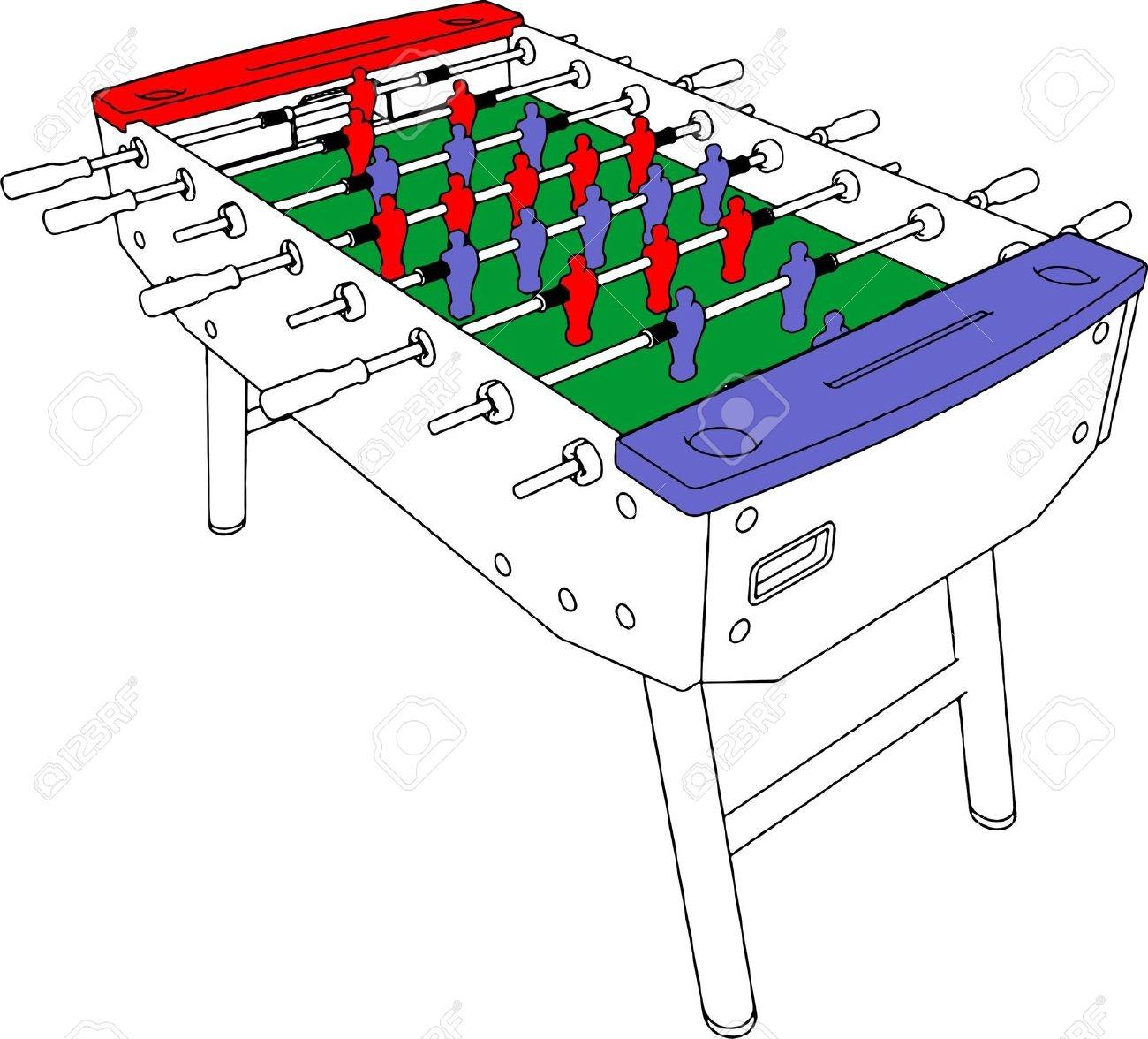 Table football clipart.