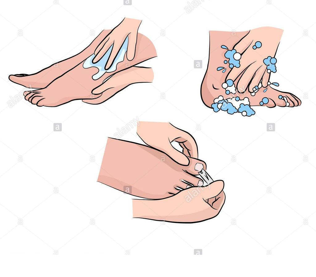 Foot Care Clipart Diabetic Hmkn.