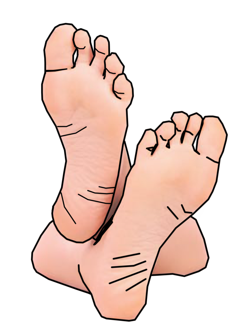 Best Foot Clipart #17814.