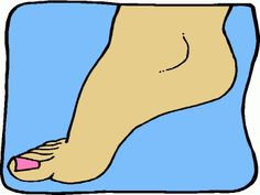 Foot Clip Art.