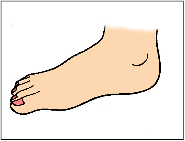 Foot Clip Art Free To Use.