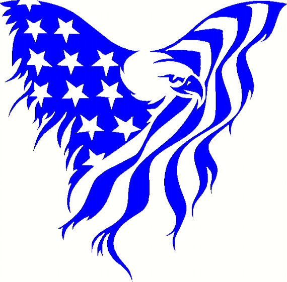 Foot Eagle With Flag Clipart 20 Free Cliparts Download