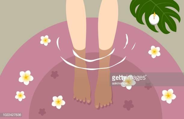 43 Foot Massage Stock Illustrations, Clip art, Cartoons & Icons.