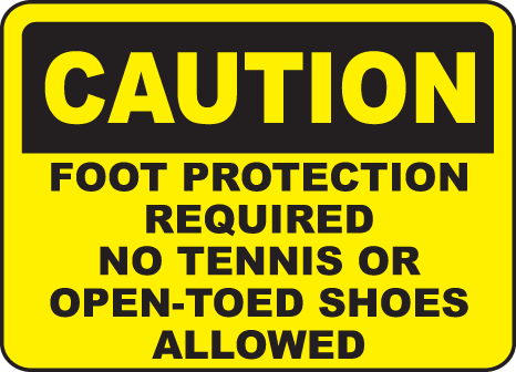 Open toed shoes clipart.