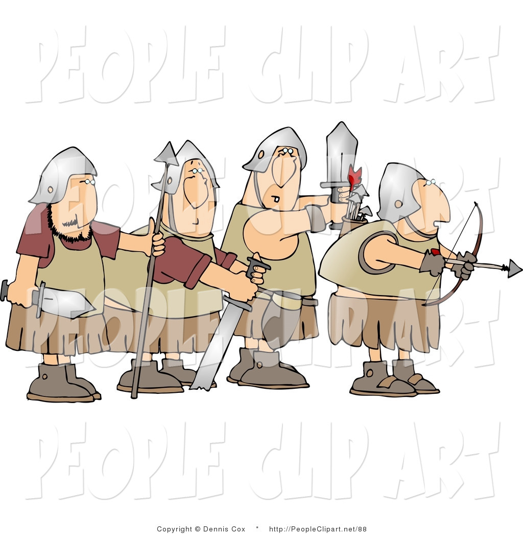 Clipart soldiers no weapons.