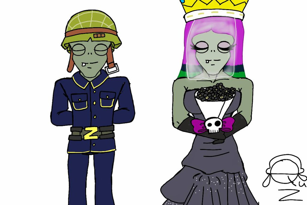 Happy Wedding Anniversary Zombia And Soldier by.