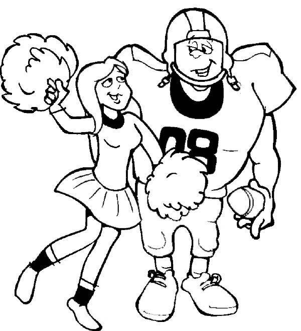 Free Football Cheerleader Cliparts, Download Free Clip Art, Free.