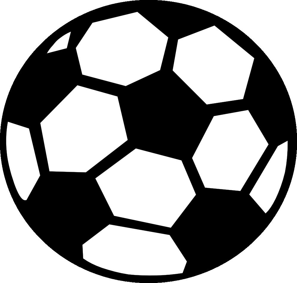 Soccer ball clip art.
