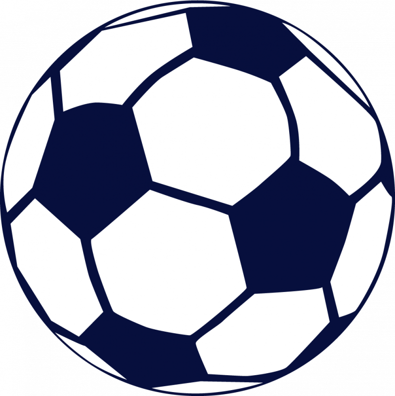 Soccer ball clipart background.