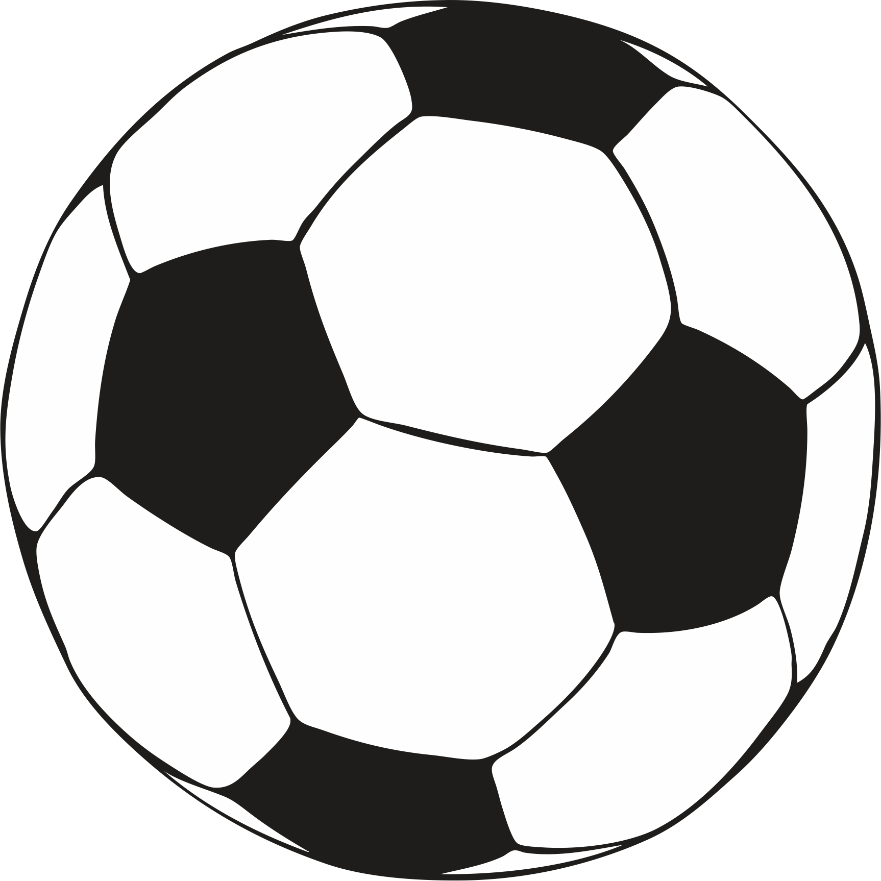 Soccer ball football ball images clipart clipartcow.
